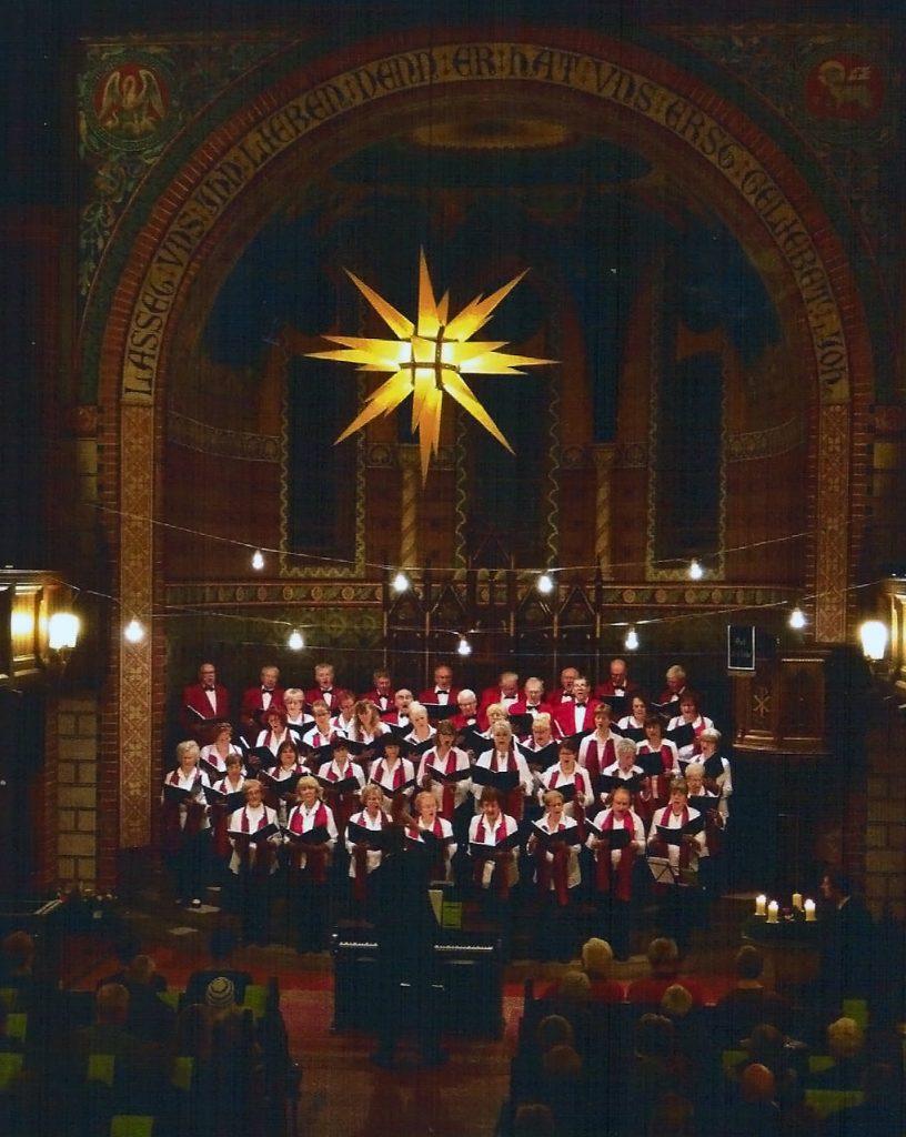 Weihnachtskonzert 2016 in der Verklärungskirche Berlin-Adlershof